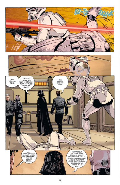 Page 2 star wars - le côté obscur tome 11 - dark vador trahison