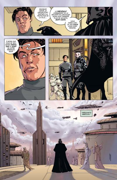 Page 3 star wars - le côté obscur tome 11 - dark vador trahison
