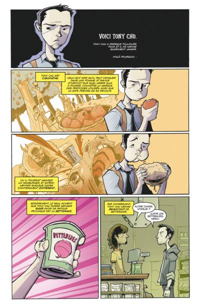 Page 2 Tony Chu, détective cannibale tome 1 - goût décés