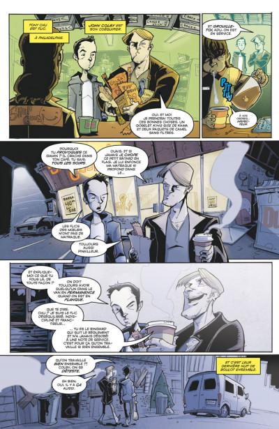 Page 3 Tony Chu, détective cannibale tome 1 - goût décés