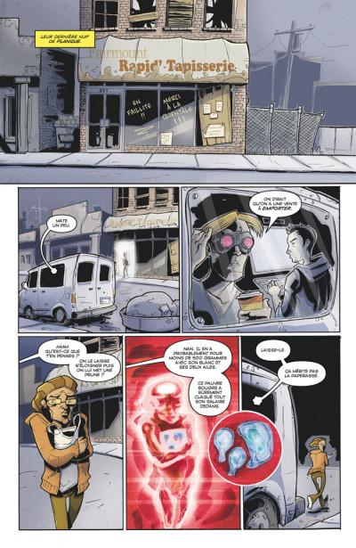 Page 4 Tony Chu, détective cannibale tome 1 - goût décés