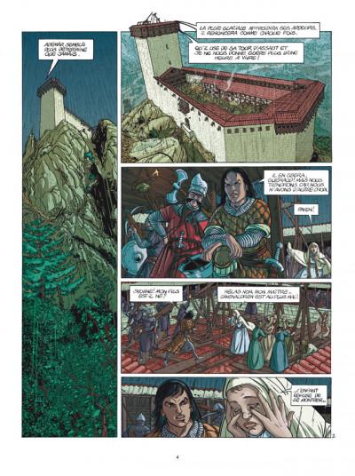 Page 2 le clan des chimères tome 1 - tribut - nouvelle édition 2011