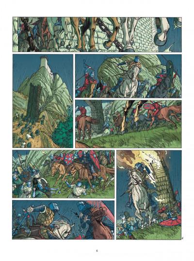 Page 4 le clan des chimères tome 1 - tribut - nouvelle édition 2011