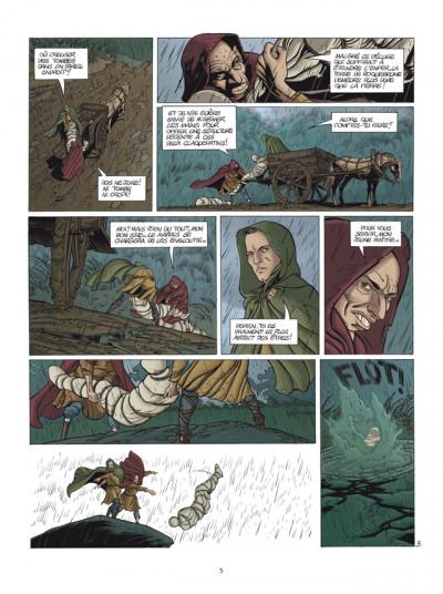 Page 3 le clan des chimères T.4 - sortilège