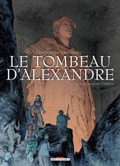 Couverture le tombeau d'Alexandre T.3 - le sarcophage d'albâtre