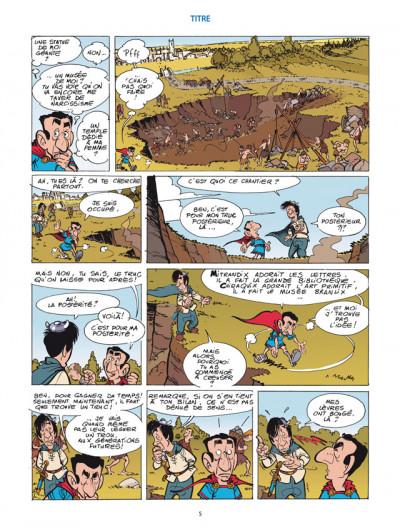 Page 3 les aventures de Sarkozix tome 2 - et ils coulèrent des jours heureux...