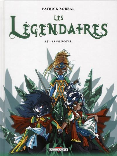 Couverture Les légendaires tome 13