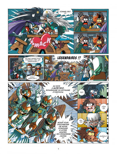 Page 3 Les légendaires tome 13
