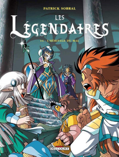Couverture Les légendaires tome 14