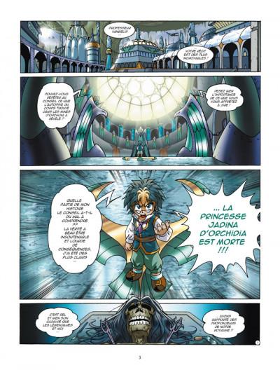 Page 1 Les légendaires tome 14
