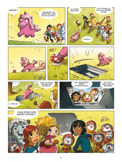 Page 4 Elinor et Jack tome 2 - de l'or, beaucoup d'or !