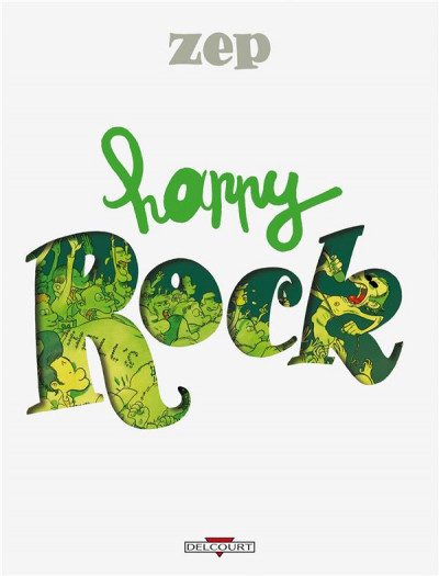 Couverture happy rock