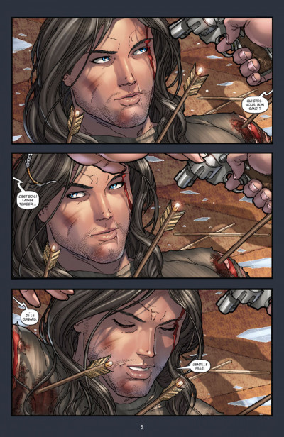 Page 1 Witchblade T.5 - sacrifice