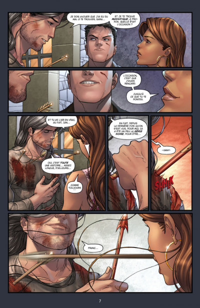 Page 3 Witchblade T.5 - sacrifice