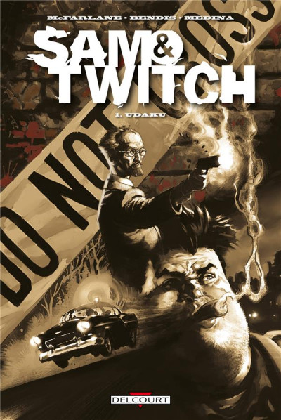 Couverture Sam & Twitch tome 1 - Udaku