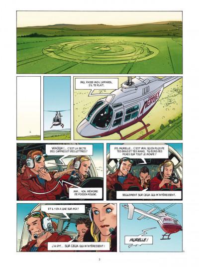 Page 1 les cercles de mystère T.1 - Murielle
