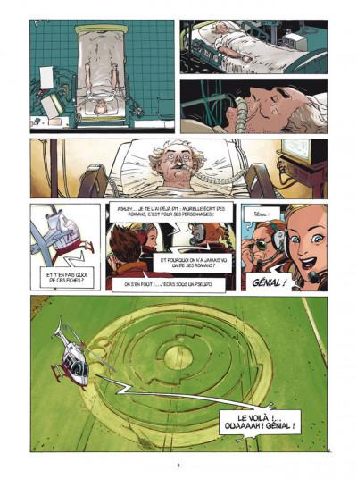 Page 2 les cercles de mystère T.1 - Murielle