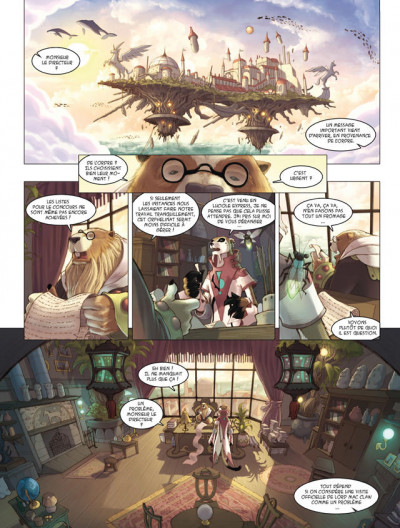 Page 1 les enfants d'Evernight tome 2 - l'orphelinat du cheval pendu
