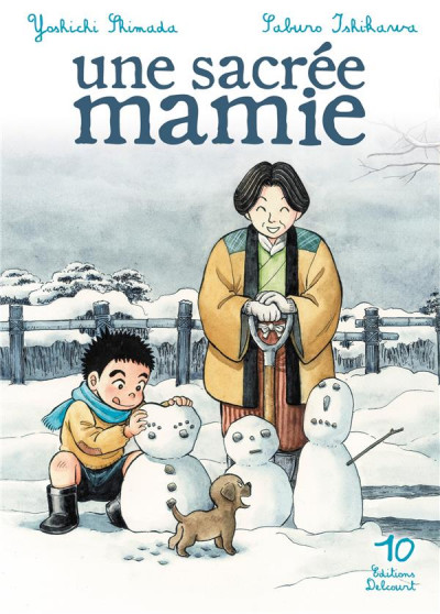 Couverture une sacree mamie tome 10