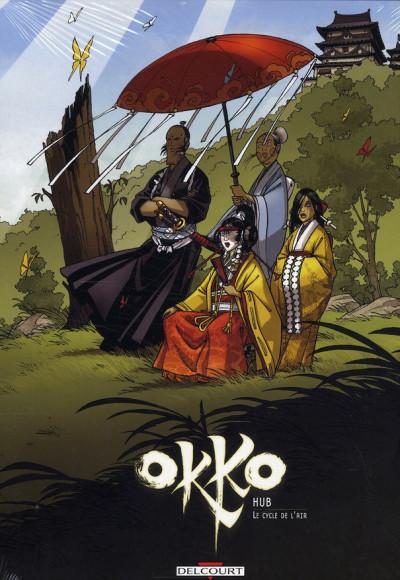 image de okko - coffret le cycle de l'air tome 5 à tome 6