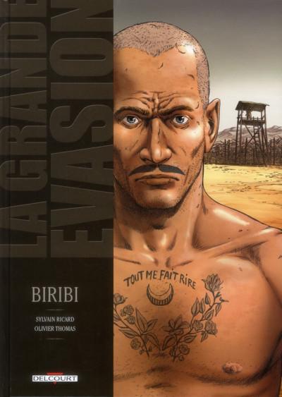Couverture la grande évasion ; Biribi