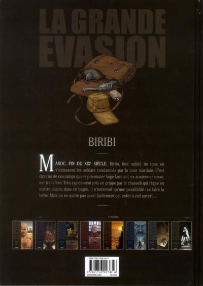 Dos la grande évasion ; Biribi