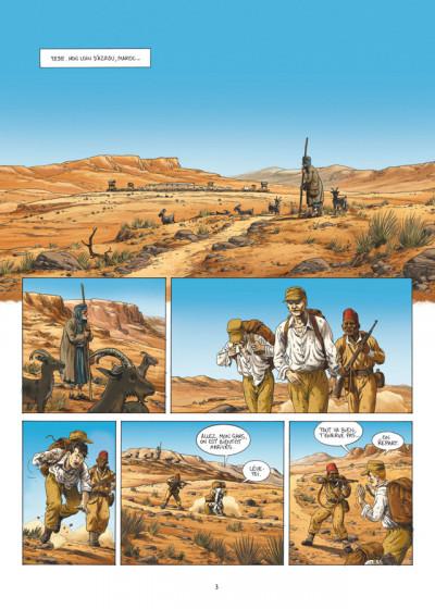Page 1 la grande évasion ; Biribi