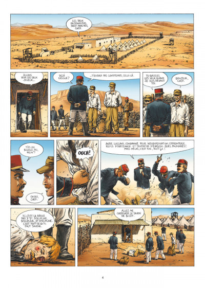 Page 2 la grande évasion ; Biribi