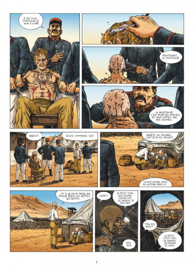 Page 3 la grande évasion ; Biribi