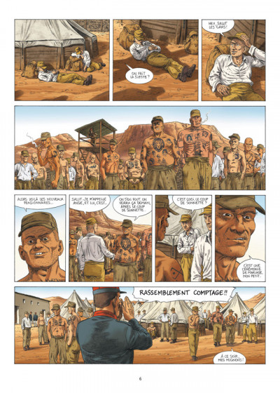 Page 4 la grande évasion ; Biribi