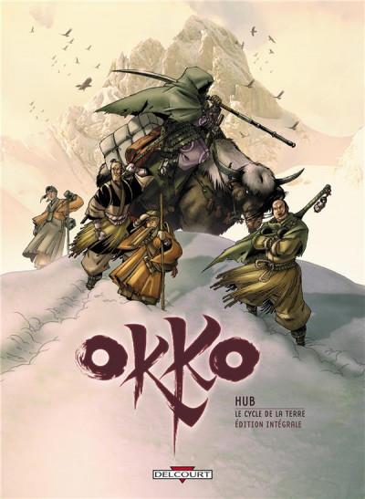 Couverture Okko - le cycle de la terre - intégrale tome 3 et tome 4
