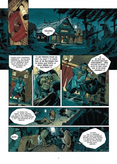 Page 1 Okko - le cycle de la terre - intégrale tome 3 et tome 4