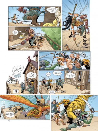 Page 2 sillage - intégrale tome 4 à tome 6