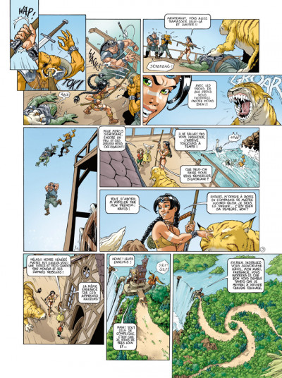 Page 3 sillage - intégrale tome 4 à tome 6