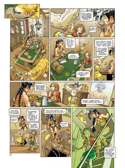 Page 4 sillage - intégrale tome 4 à tome 6