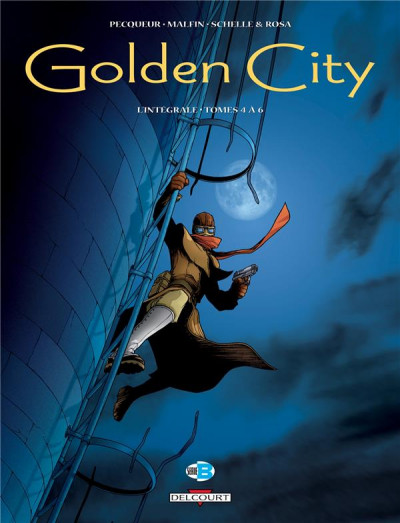 Couverture Golden City - INTEGRALE VOL.2 - T.4 A T.6