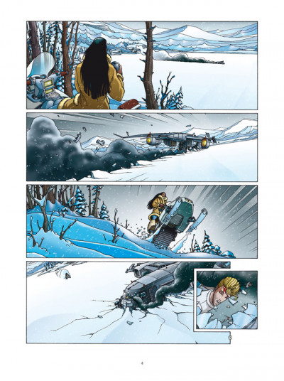 Page 2 Golden City - INTEGRALE VOL.2 - T.4 A T.6
