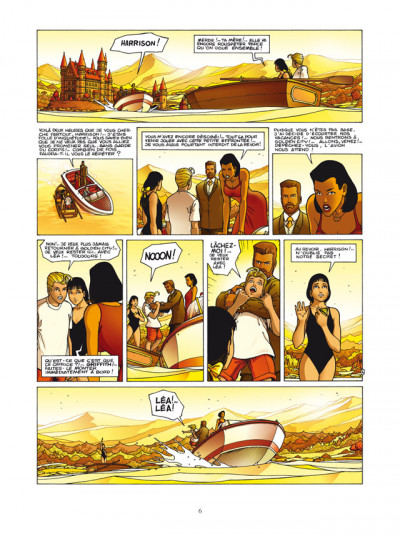 Page 4 Golden City - INTEGRALE VOL.2 - T.4 A T.6