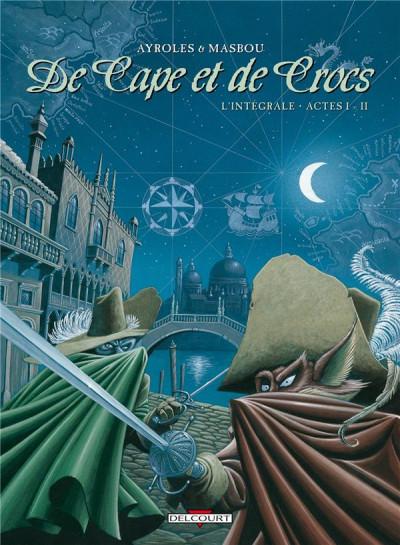 Couverture De cape et de crocs - Intégrale tome 1 (tome 1 et tome 2)