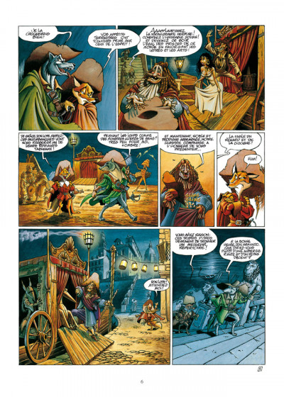 Page 4 de cape et de crocs - INTEGRALE VOL.1 - T.1 ET T.2