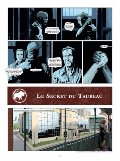 Page 3 zodiaque tome 2 - le secret du taureau