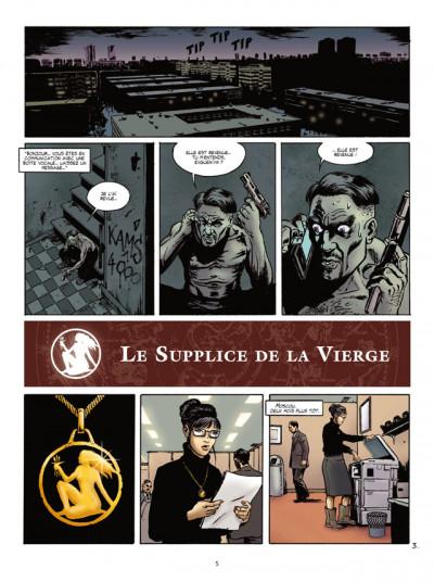 Page 3 zodiaque tome 6 - le supplice de la vierge