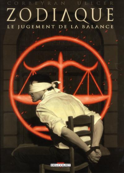 Couverture zodiaque tome 7 - le jugement de la balance