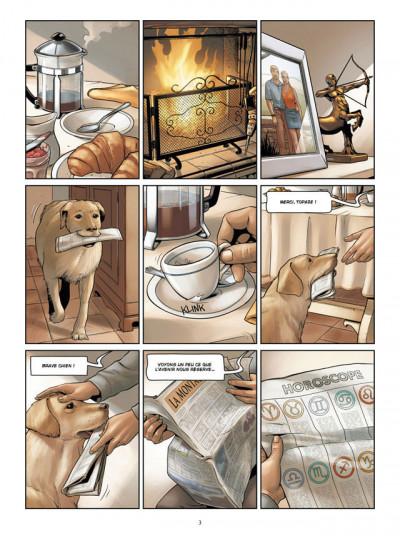 Page 1 zodiaque tome 9 - le voyage du sagittaire