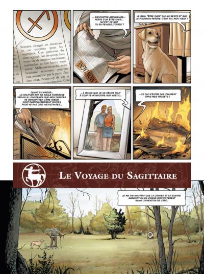 Page 2 zodiaque tome 9 - le voyage du sagittaire