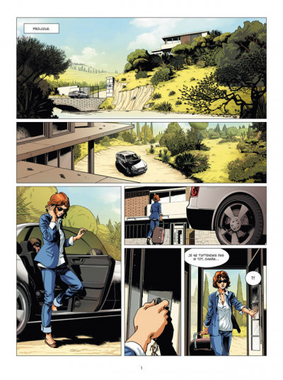 Page 1 Zodiaque tome 13 - le plan du serpentaire