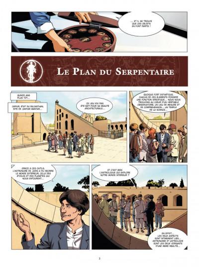 Page 3 Zodiaque tome 13 - le plan du serpentaire