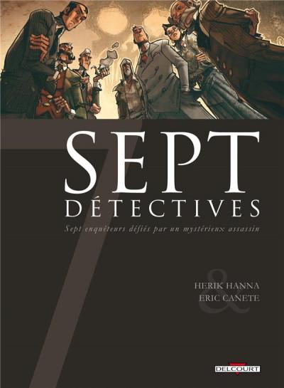 Couverture 7 détectives
