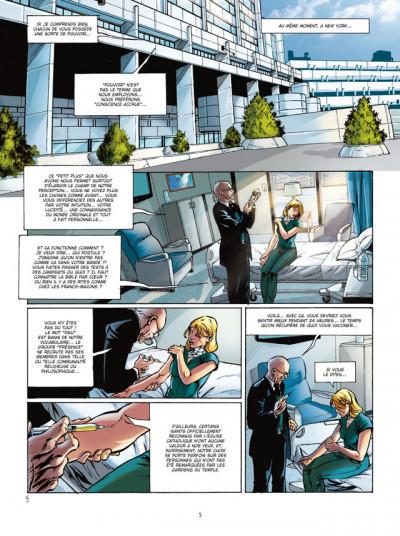 Page 3 septième sens tome 2 - faire des miracles