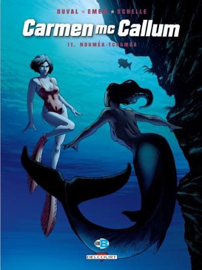 Couverture Carmen Mc Callum tome 11 - Nouméa-Tchamba